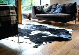 custom cowhide rugs black and white rug zebra patchwork stapt co