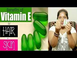 vitamin e capsules for skin care
