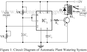 circuit diagram 555 timer wiring library automatic plant watering system circuit best engineering projects