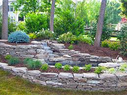Decorative Rock Designs Landscape design build lily pond Vienna VA Green Wave Landscaping 7