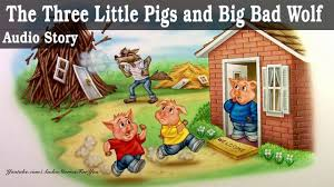 the three little pigs and big bad wolf fairy tale bedtime stories