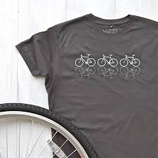 cycles t shirt with reflective print