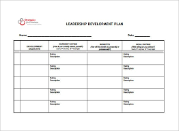 Employee Development Plan Template Smart Representation Leadership ...