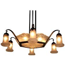art deco chandelier nz french by