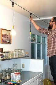 stylish track lighting. Pendant Track Lighting Illuminate Your Kitchen Stylishly With This Easy Solution Canada Stylish R