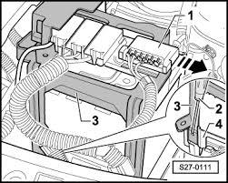 skoda workshop manuals > fabia mk1 > vehicle electrics s27 0111