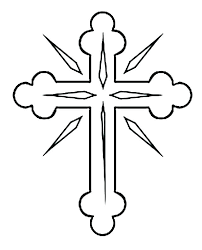 Coloring Pages Of A Cross Theaniyagroupcom