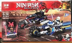 Báo giá Bộ lắp ráp xếp hình Non Lego Ninjago Movie 76015: Chiến Xe Của Zane  và Ninja hắc ám chỉ 218.000₫