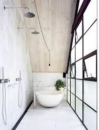 Minimalistwhiterainshowerwithtubs Awesome Bathroom Refresh Minimalist