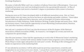 Iu Resume Template Cover Letter For Portfolio Examples Gallery Cover Letter Sample 19