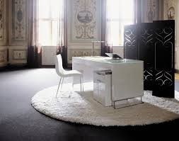 white home office desk. Ligne Roset Style Artificial Mrble White Home Office Desk TW-MATB-275