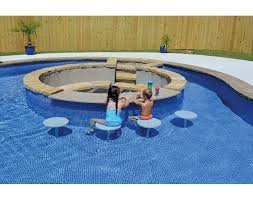 In pool furniture Modern Thumbnail For Pool Seating In Vinyl Liner high Res Garden Furniture Inpool Furniture Tables Seating Sr Smith