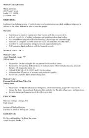Amusing Objective For Medical Billing And Coding Resume 18 With