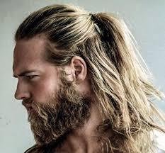 قصات للرجال شعر طويل