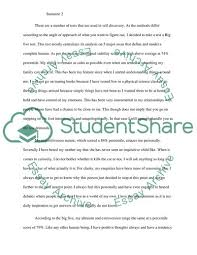 Personality Profile Essay Example Topics And Well Written