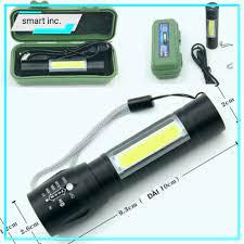 Đèn Pin Siêu Sáng Mini Bóng Led XPE COB Zoom Phóng To 🚀FREESHIP🚀 Chống  Nước Cầm Tay Chuyên Dụng Sạc Điện USB Nhỏ Gọn