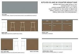 kitchen counter overhang for bar stools bar counter overhang supports for kitchen island breakfast bar counter