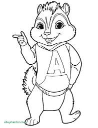 New Chipmunks Coloring Pages Free Coloring Pages