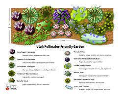 Small Picture utah friendly pollinator garden Landscape Design Ideas