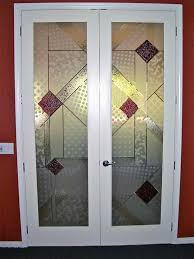 astounding home interior design using etched glass french doors charming double etched glass french doors