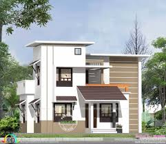 beautiful house front design low budget and home plan kerala in stan 1500 square feet on
