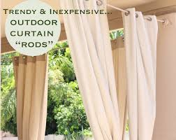outdoor curtain rod pic with outdoor curtain rods