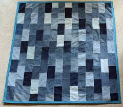 36 Denim or Jean Quilt Patterns | Guide Patterns & Denim Fleece Quilt Adamdwight.com