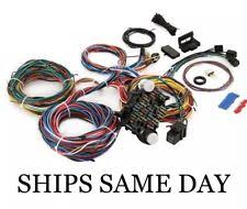 chevy wiring harness parts & accessories ebay Chevy Wiring Harness 21 circuit wiring harness ford mopar chevy hotrods universal extra long wires chevy wiring harness diagram