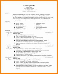 6 Manual Testing Resume Format New Hope Stream Wood