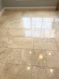 polishing dull travertine floor tiles in swansea