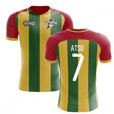 2020-2021 Ghana Home Concept Football Shirt (Atsu 7)