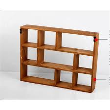 wooden box shelves wooden box 9 grids wooden shelf home storage holder rack bathroom of wooden