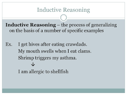 structuring arguments inductive reasoning inductive reasoning  2 inductive reasoning