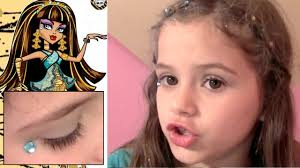 makeup ideas makeup tutorial kids monster high makeup y cute beauty set tutorial for kids