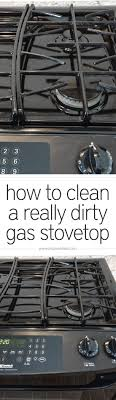 gas stove top. Wonderful Stove How To Clean A Gas Stovetop  Simplywhiskedcom For Stove Top