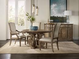 hand carved dining table timeless interior designer: hooker furniture solana in pedestal dining table w  in leaf