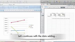 how to make graphs using ms office mac