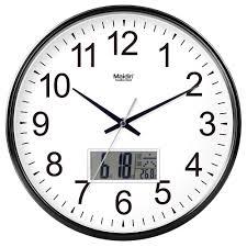 office clock wall. Maidin Fashion Wall Clock Living Room Office Simple Mute Charts Creative Quartz Perpetual Calendar D021 K