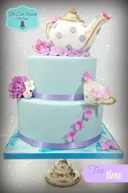 Tea Party Theme Cakeorig The Cake Bazaar