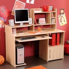 furniture elegant lacquered oak wood storage computer desk for gallery including desks teenage bedroom images