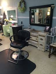 Fringe Hair Design Anchorage Our Custom Distressed Styling Stations In The Salon Really