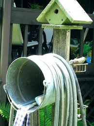water hose holder garden reel stand rapid free standing hanger with faucet stan