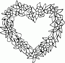 Small Picture Valentine Hearts To Color Coloring Coloring Pages