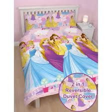 disney princess enchanting double duvet cover set