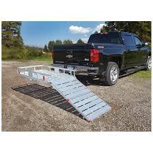 carrier ramp. guide gear aluminum cargo carrier with ramp
