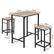Table Haute De Bistrot Excellent Table Bar Pliable Affordable Table