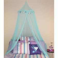 Blue Daisy Bed Canopy