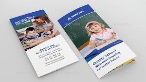 tri fold school brochure template school tri fold brochure by kbarif graphicriver