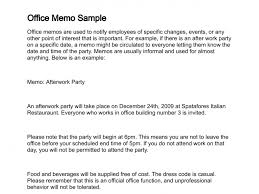 Sample Of A Memo Letter - East.keywesthideaways.co