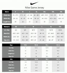 Jersey Size Chart Reebok Nfl Jersey Size Chart Kasa Immo